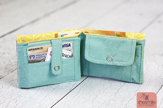 Produktfoto von shesmile zum Nähen für Schnittmuster Geldbeutel KlapKram