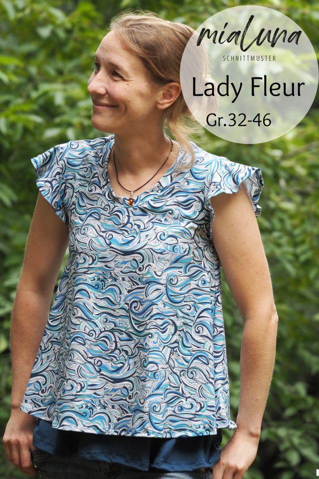 Produktfoto von mialuna zum Nähen für Schnittmuster Lady Fleur