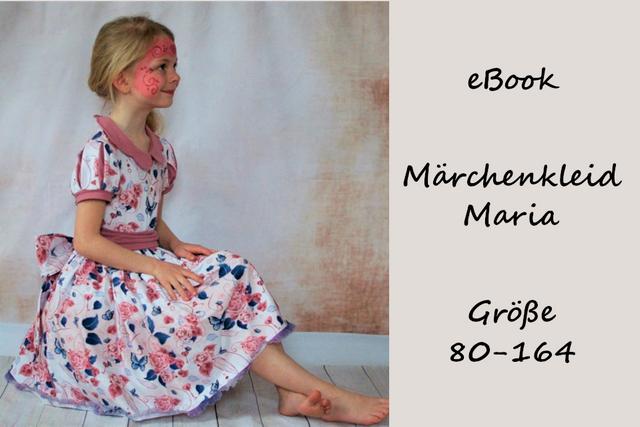 Produktfoto von Bunte Nähigkeiten zum Nähen für Schnittmuster Märchenkleid Maria