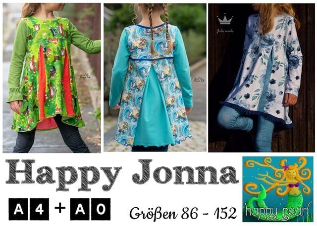 Produktfoto von Happy Pearl zum Nähen für Schnittmuster Happy Jonna