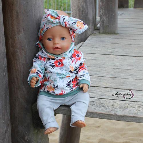 Produktfoto von Zwergnase-Design zum Nähen für Schnittmuster Dress up your Baby Doll