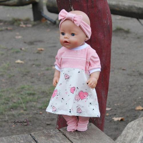 Produktfoto von Zwergnase-Design zum Nähen für Schnittmuster Dress up your Baby Doll Vol.2