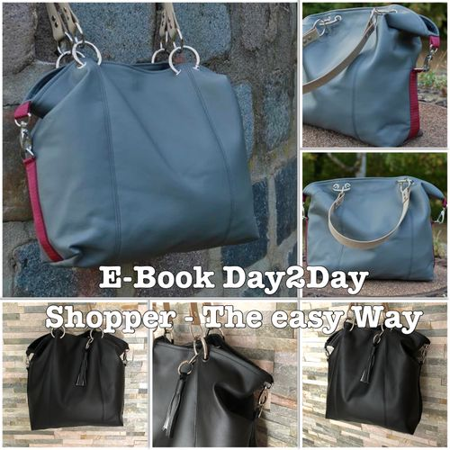 Produktfoto von JaSEWmade - Handmade by Scaryle für Schnittmuster Day2Day Shopper - the easy way