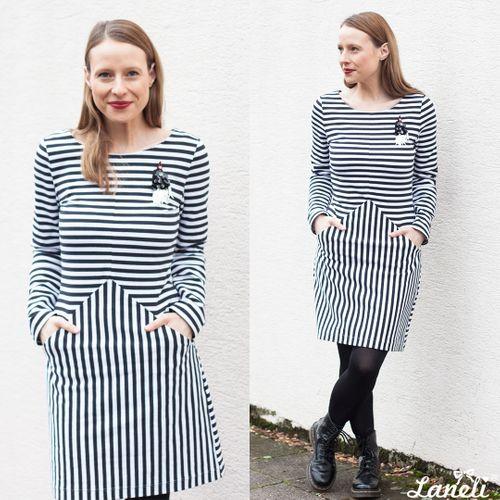 Produktfoto von Laneli zum Nähen für Schnittmuster Kleid #Jil