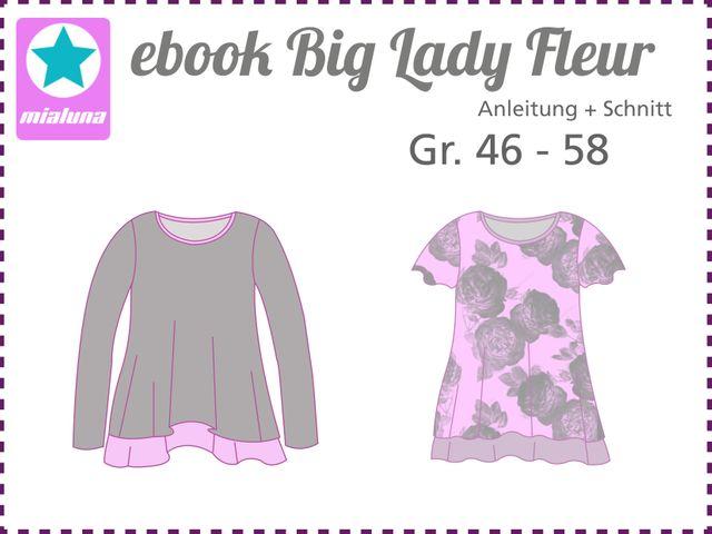 Produktfoto von mialuna zum Nähen für Schnittmuster Big Lady Fleur