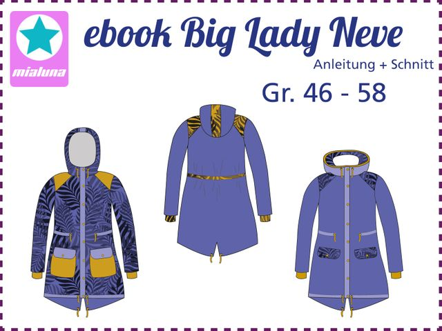 Produktfoto von mialuna zum Nähen für Schnittmuster Big Lady Neve