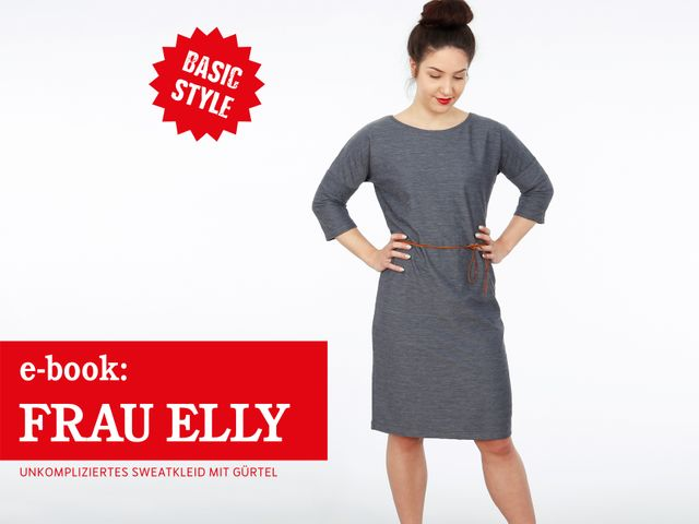 Produktfoto von STUDIO SCHNITTREIF zum Nähen für Schnittmuster Frau Elly