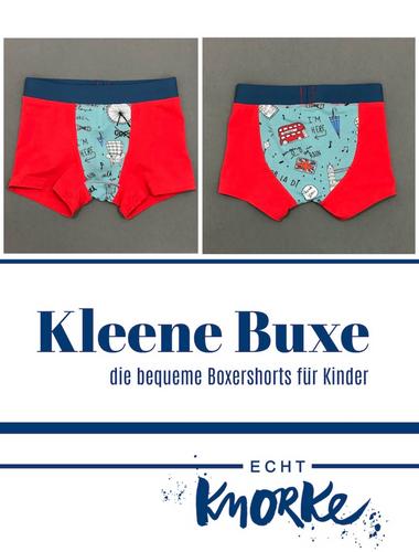 Produktfoto von echt Knorke zum Nähen für Schnittmuster Kleene Buxe