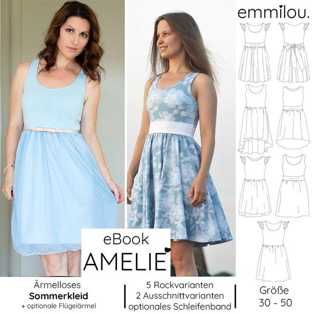 Produktfoto von emmilou. zum Nähen für Schnittmuster Große Amelie
