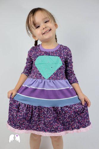 Produktfoto von Engelinchen zum Nähen für Schnittmuster Diamond Dress