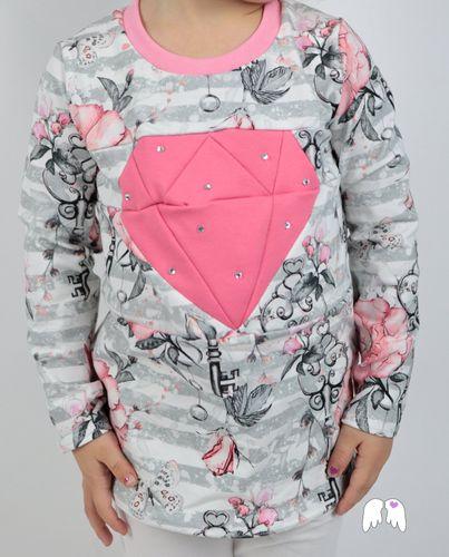 Produktfoto von Engelinchen zum Nähen für Schnittmuster Diamond Shirt