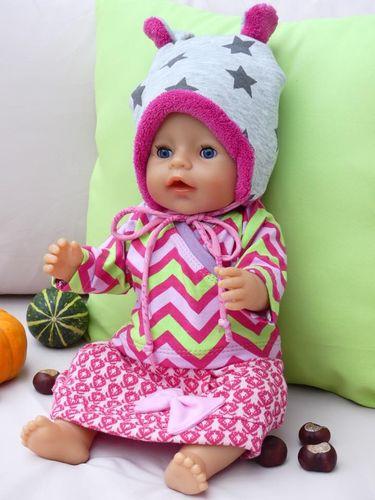 Produktfoto von gialLino zum Nähen für Schnittmuster Puppenoutfit