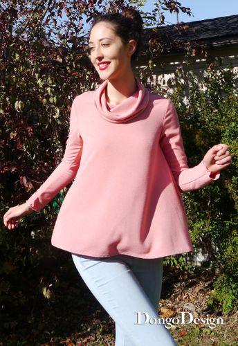 Produktfoto von DongoDesign zum Nähen für Schnittmuster Shirt Maike