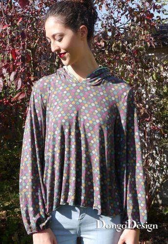 Produktfoto von DongoDesign zum Nähen für Schnittmuster Shirt Melanie
