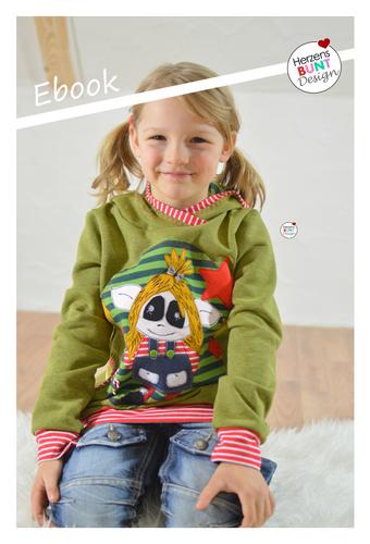 Produktfoto von Herzensbunt Design zum Nähen für Schnittmuster Sunny Hoodie