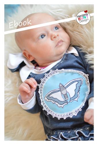 Produktfoto von Herzensbunt Design zum Nähen für Schnittmuster Farbklex - Baby Edition