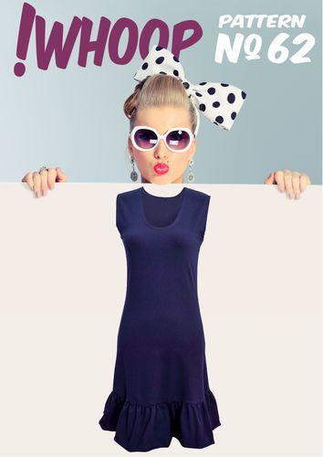 Produktfoto von !Whoop patterns zum Nähen für Schnittmuster # 62 Kleid mit Volant