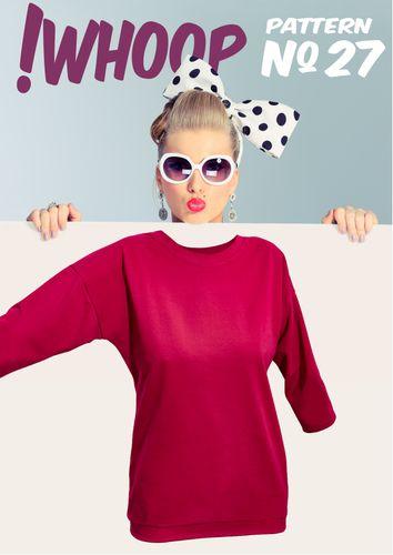 Produktfoto von !Whoop patterns zum Nähen für Schnittmuster #27 Shirt