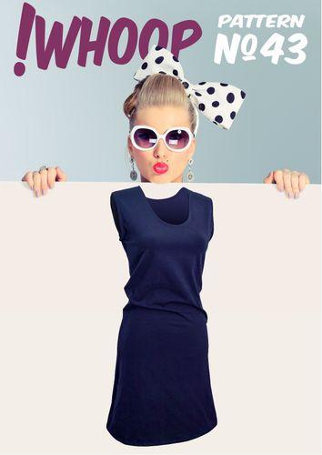 Produktfoto von !Whoop patterns zum Nähen für Schnittmuster #43 Kleid
