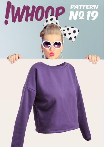 Produktfoto von !Whoop patterns zum Nähen für Schnittmuster #19 Kurzpullover