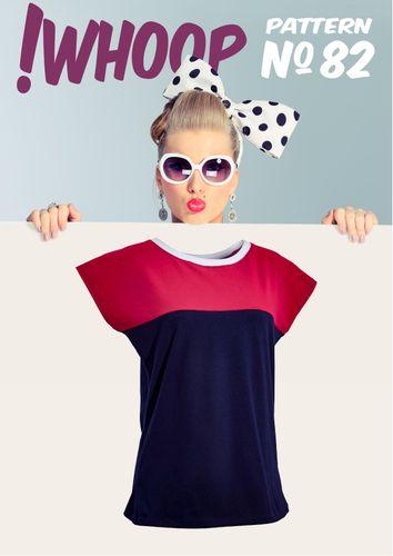 Produktfoto von !Whoop patterns zum Nähen für Schnittmuster #82 Shirt