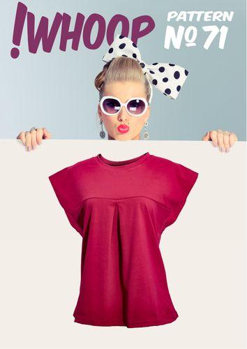 Produktfoto von !Whoop patterns zum Nähen für Schnittmuster #71 Shirt