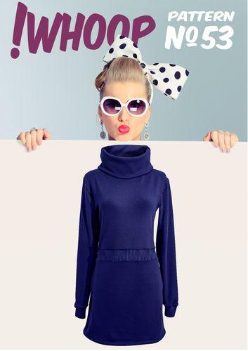 Produktfoto von !Whoop patterns zum Nähen für Schnittmuster #53 Kleid