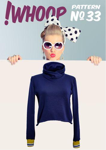 Produktfoto von !Whoop patterns zum Nähen für Schnittmuster #33 Kurzpullover