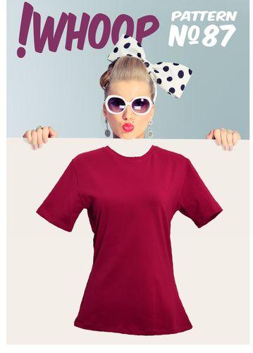 Produktfoto von !Whoop patterns zum Nähen für Schnittmuster #87 T-Shirt