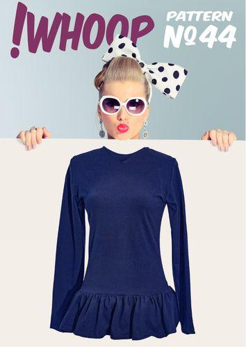 Produktfoto von !Whoop patterns zum Nähen für Schnittmuster #44 Tunika
