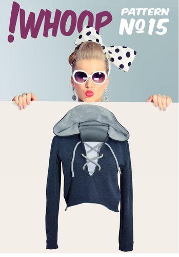 Produktfoto von !Whoop patterns zum Nähen für Schnittmuster #15 Hoodie