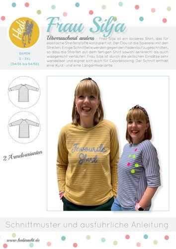 Produktfoto von Hedi zum Nähen für Schnittmuster Frau Silja