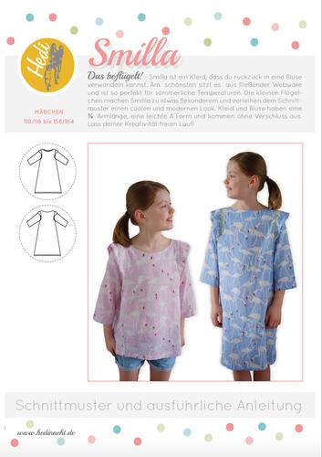 Produktfoto von Hedi zum Nähen für Schnittmuster Kleid/Bluse Smilla