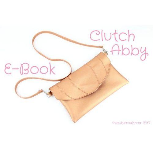 Produktfoto von Zaubernahnna zum Nähen für Schnittmuster Clutch Abby
