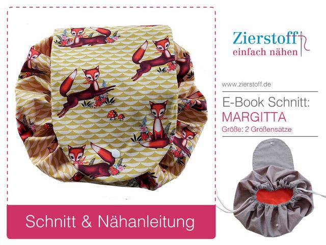 Produktfoto von Zierstoff zum Nähen für Schnittmuster Margitta
