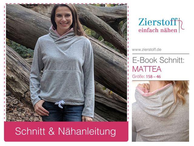 Produktfoto von Zierstoff zum Nähen für Schnittmuster Mattea 158-46