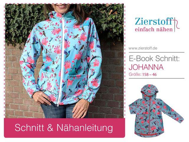 Produktfoto von Zierstoff zum Nähen für Schnittmuster Johanna 158-46