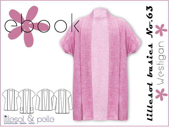 Produktfoto von Lillesol & Pelle zum Nähen für Schnittmuster Lillesol basics No. 63 Westigan