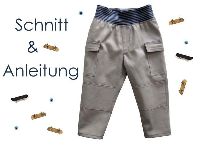 Produktfoto von Lunicum zum Nähen für Schnittmuster Cargohose Cargopants