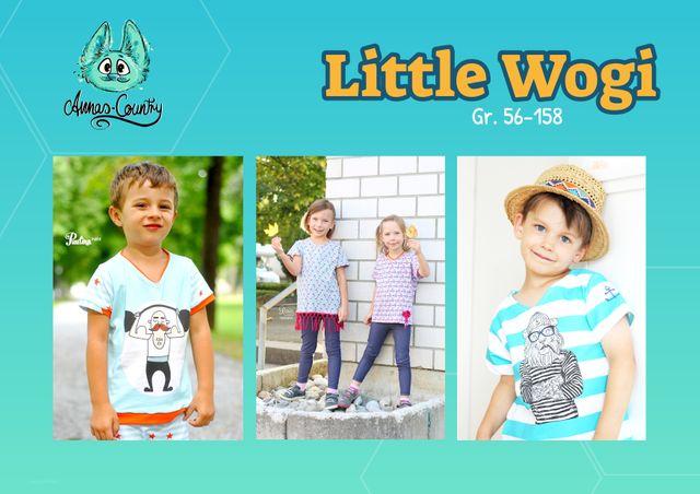 Produktfoto von Annas-Country zum Nähen für Schnittmuster Little Wogi