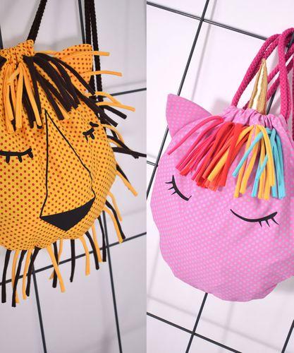 Produktfoto von Leni Pepunkt zum Nähen für Schnittmuster RUCKSACK.unicorn / RUCKSACK.lion
