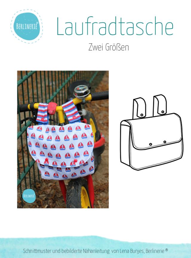 Produktfoto von Berlinerie zum Nähen für Schnittmuster Laufradtasche