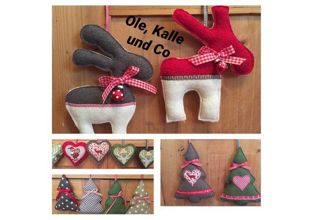 Produktfoto von Frau Schnitte zum Nähen für Schnittmuster Anhänger-Set Ole, Kalle & Co.