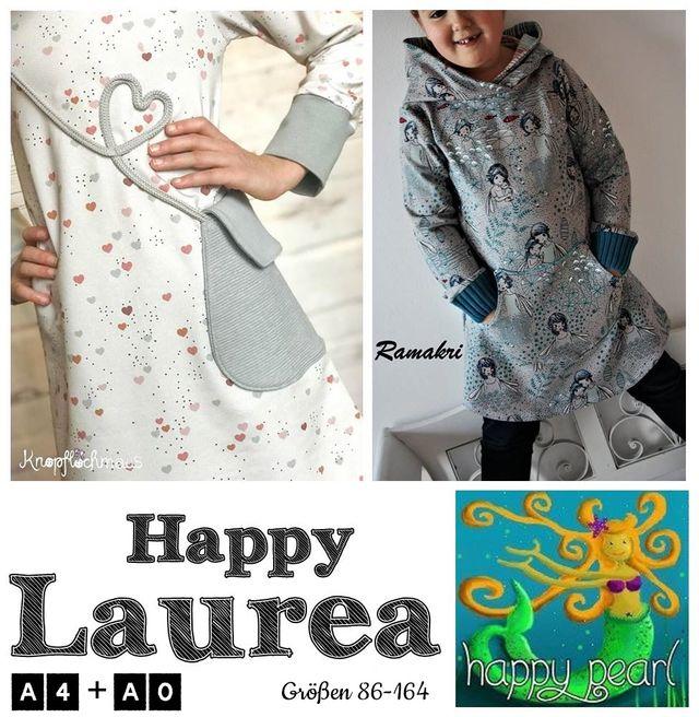 Produktfoto von Happy Pearl zum Nähen für Schnittmuster Happy Laurea