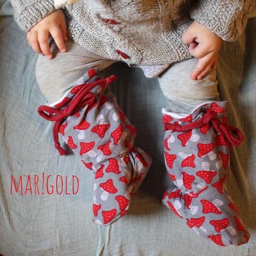 Produktfoto von mar!gold zum Nähen für Schnittmuster (Trage-)Stiefel