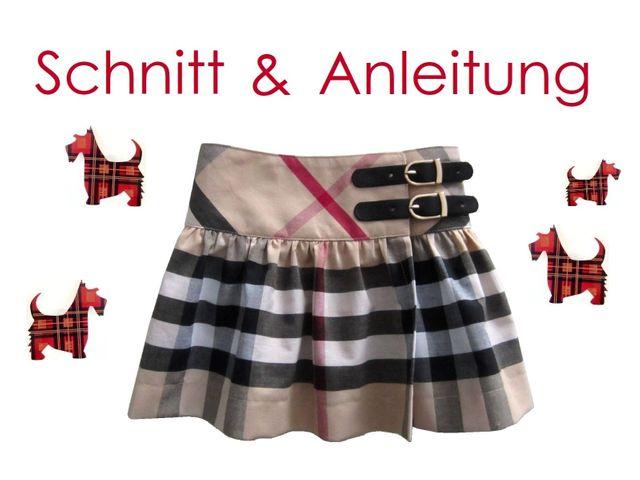 Produktfoto von Lunicum zum Nähen für Schnittmuster Wickelrock