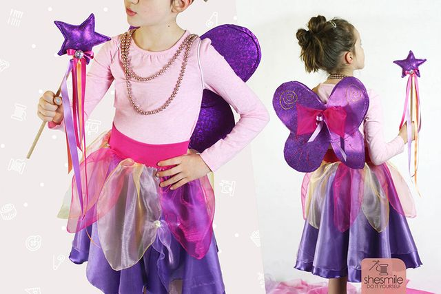 Produktfoto von shesmile zum Nähen für Schnittmuster Feen-Kostüm Annabelle
