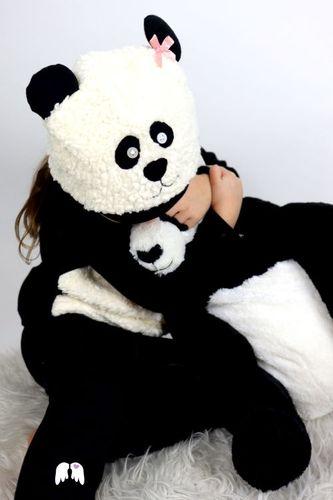 Produktfoto von Engelinchen zum Nähen für Schnittmuster Pandamütze