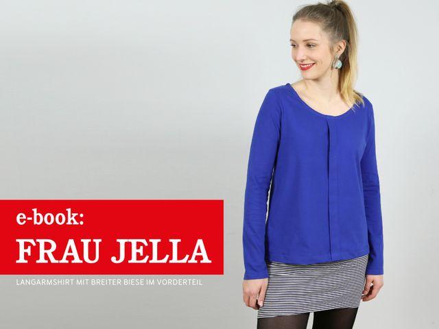 Produktfoto von STUDIO SCHNITTREIF zum Nähen für Schnittmuster Frau Jella