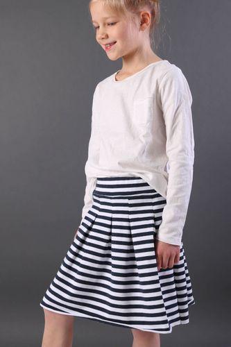 Produktfoto von Kid5 zum Nähen für Schnittmuster Isabella Skirt Girls